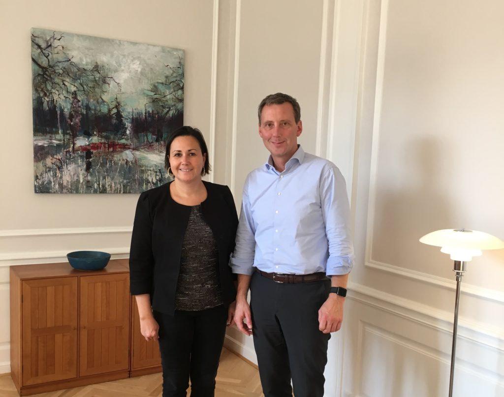 Aaja Chemnitz Larsen IA og Justitsminister Nick H