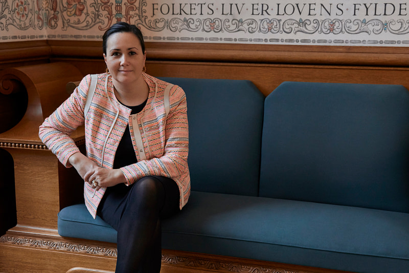 Aaja Chemnitz Larsen - Pressebilleder